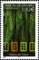 ANDORRA FRANCESA 2006 - MUSEO DEL TABACO - 1 SELLO - Tabaco