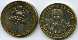 Chili Chile 100 Pesos 2012 KM 236 - Chili