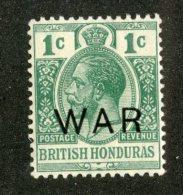 W1327  Br.Honduras 1918   Scott #MR4*   Offers Welcome! - British Honduras (...-1970)