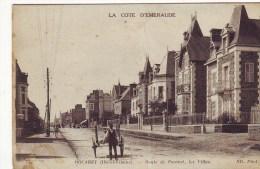 Cpa  Rocabey  Route De Paramé - Other Municipalities