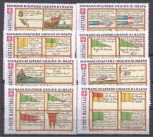 Malte(Odre De)1977: Said:128-35 Mnh** NAVAL SIGNAL FLAGS - Malte (Ordre De)