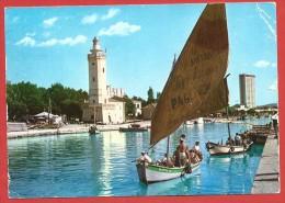 CARTOLINA VG ITALIA - RIMINI - Porto Canale E Grattacielo - 10 X 15 - ANNULLO 1962 - Rimini