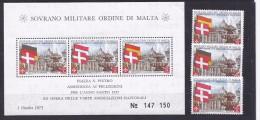 Malte(Odre De)1975: Said: HOLY YEAR MS8,110-12mnh** - Malte (Ordre De)