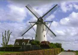 VINDERHOUTE - Lovendegem (O.Vl.) - Molen/moulin - Prachtige Kaart Van Van Vlaenderensmolen Met Wolkenlucht - Lovendegem