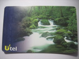 Ukraine.Forest River. 50 Units Pre-paid Chip UTEL Phone Card. - Ukraine