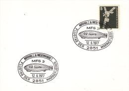 1977 Germany Nordholz Graf Zeppelin Marine Luftschiff MFG 3 Airship Dirigibile Ballon Dirigeable Aeronave - Zeppelins