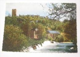 M655 -       Chanac  Ruine Du Chateau Episcopal  Barrage Sur Le Lot - Chanac