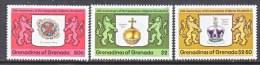 GRENADA  GRENADINES  270-2  *  CORONATION - Grenada (1974-...)