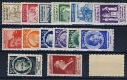 TURQUIE      -    N° 857   /  871 - 1934-39 Sandjak Alexandrette & Hatay