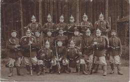 AK Milit�r Militaria �bung Man�ver Pickelhaube Sachsen Preussen Stempel Pirna Dresden Bautzen Leipzig Chemnitz Ebersdorf
