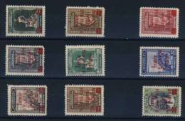 TURQUIE      -    N° 830  /838 - 1934-39 Sandjak Alexandrette & Hatay