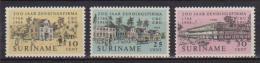 SURINAME 1968 CASA C.KERSTEN YVERT. 480-482 MLH VF - Suriname