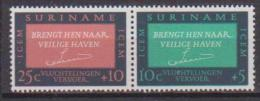 SURINAME 1965 NAZIONI UNITE YVERT. 410-411 MLH VF - Suriname