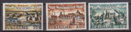 SURINAME 1967  TRATTATO DI BREDA YVERT. 463-465 MLH VF - Suriname