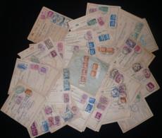 lot de +100 Bulletins d'expedition Alsace Lorraine Colis Postaux - Strasbourg + autres villes - frais de port 5.00 euros