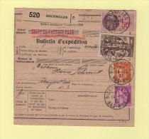 Bulletin D´expedition - Saint Trophime Perfore - Bischwiller - 14-12-1937 - Poststempel (Briefe)