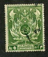 W1565  Pakistan 1951  Scott #58  (o)   Offers Welcome!