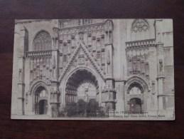 Portail De L'Eglise De Notre-Dame / OLVrouw Kerk - Anno 1924 ( Zie Foto´s Voor Details ) !! - Tienen