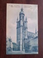 Groote Markt En Kerktoren ( 11 ) - Anno 19?? ( Zie Foto´s Voor Details ) !! - Halle