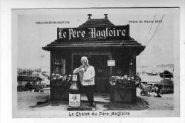 CPA  Publicité Alcool Calvados Foire Paris Magloire - Advertising