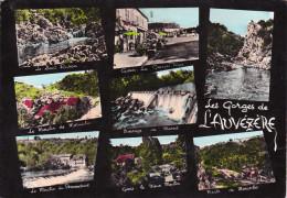 CPSM GENIS(24)1968-les Gorges De L'Auvézère-multivues-grand Format - France