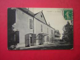 CPA   21 TICHEY  LE CHATEAU     VOYAGEE   1912 TIMBRE - Autres Communes