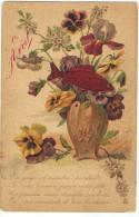 Carte 1 Er Avril  Illustration E Guillot - Illustrateurs & Photographes