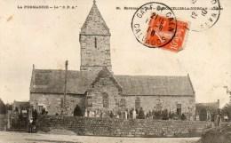 Maisoncelles-la-Jourdan. L'Eglise. (Cachet Gare De Caen). - Other Municipalities