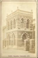 PHOTOGRAPHIE PARIS EXPOSITION UNIVERSELLE 1878 PIGNOLET PHOT. - Lieux