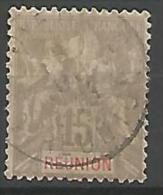 REUNION TYPE GROUPE   N° 48 OBL TB - Réunion (1852-1975)