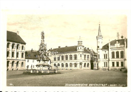 Sudeten. Sommerfrische Reichstadt , Markplatz. - Sudeten
