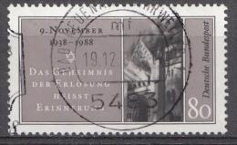 Bund 1988 Mi.nr.:1389   Gestempelt / Oblitérés / Used - Oblitérés