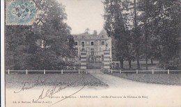 78 BONNELLES   Vallée De Chevreuse CHATEAU De BISSY Grille D´ Honneur Et PARC - France