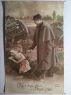 Guerre De 1914, Coeur De Français, Soldat De Cahors - Guerra 1914-18