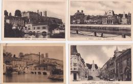 LOT  DE  8  CPA & 1 CPSM  DE  VERDUN  -Toutes Scanées - Postcards