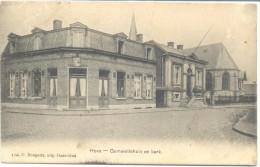 Hove - Gemeentehuis En Kerk - Hove