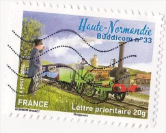 France 2014 - Y & T - Oblitéré - N° ???? La Grande Epopée Du Voyage En Train : Haute-Normandie : Buddicom 33 - France