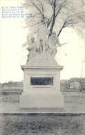 CPA PAU - MONUMENT A LA GLOIRE DU 18e R. I. - DON DE MISS CUSHING - OEUVRE DE C. W. AYTON - Pau
