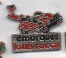Matériel , Remorque Louis Rocca - Zonder Classificatie