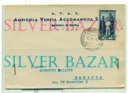 BAGNOLI DI SOPRA - PUBBLICITARIA - AGRICOLA VENETA - Padova (Padua)