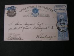 == Peru, Nice Card 1882 - Peru