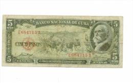 5 pesos 1958 USAGE mais bel aspect