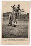 """CONGO Français--St LOUIS De L´OUBANGHI La""""Moutête""""ou Corbeille Primitive Faite Avec 2 Feuilles De Palmier Entrelacées - Congo Francés - Otros"""