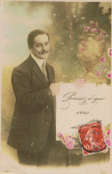 PENSEZ À QUI VOUS AIMEZ . - 1910 - - Couples