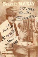 AUTOGRAPHE DEDICACE DE BERNARD MARLY ACCORDEONISTE ACCORDEON FRATELLI CROSIO MUSIQUE MUSICIENNE - Chanteurs & Musiciens