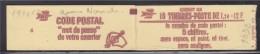 = Sabine De Gandon Carnet  N°1974-C2 Neuf Ouvert  10 Timbres 1f20 Rouge Le Code Postal - Definitives