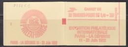 = Sabine De Gandon Carnet 2154-C1 Neuf Ouvert 20 Timbres 1f40 Vert Exposition Philatélique Philexfrance82 Numéroté 4575 - Usage Courant