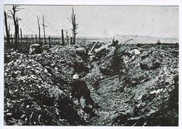 Cpm   VERDUN  , Vision De Guerre  ,  Fort De Vaux , Boyau Altkirch , D´aprés Une Photo D´epoque ! ( 582) - Guerre 1914-18