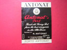 ETIQUETTE     PORTO ANTONAT     ANTONAT 'S PORT   20 ° - Labels