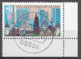 Bund 1994  Mi.nr.:1721   Gestempelt / Oblitérés / Used - [7] République Fédérale